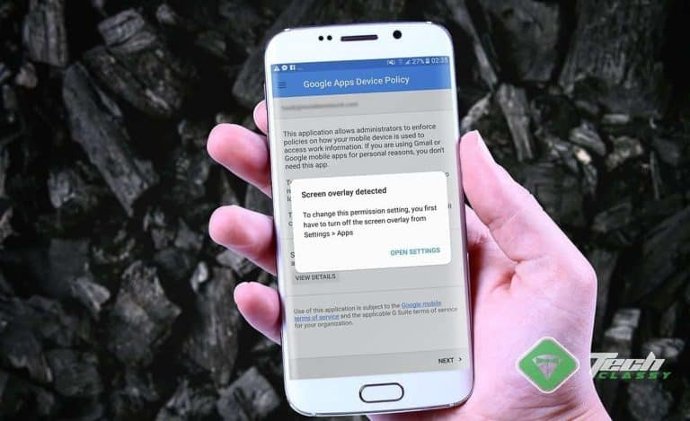 """How to Fix """"Screen overlay detected"""" Error on Android"""