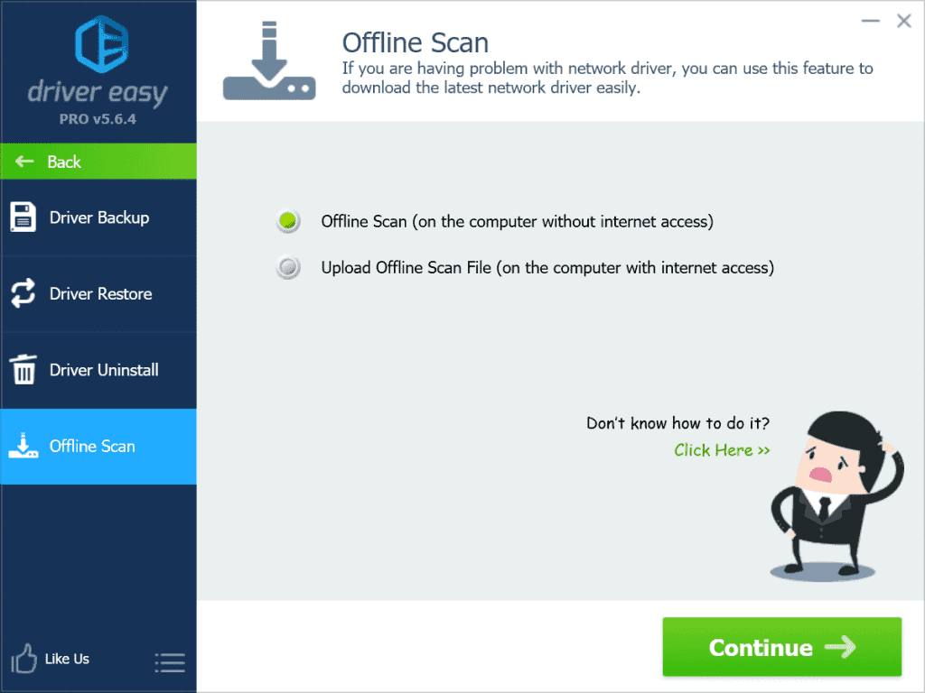 Driver Easy Offline Scan
