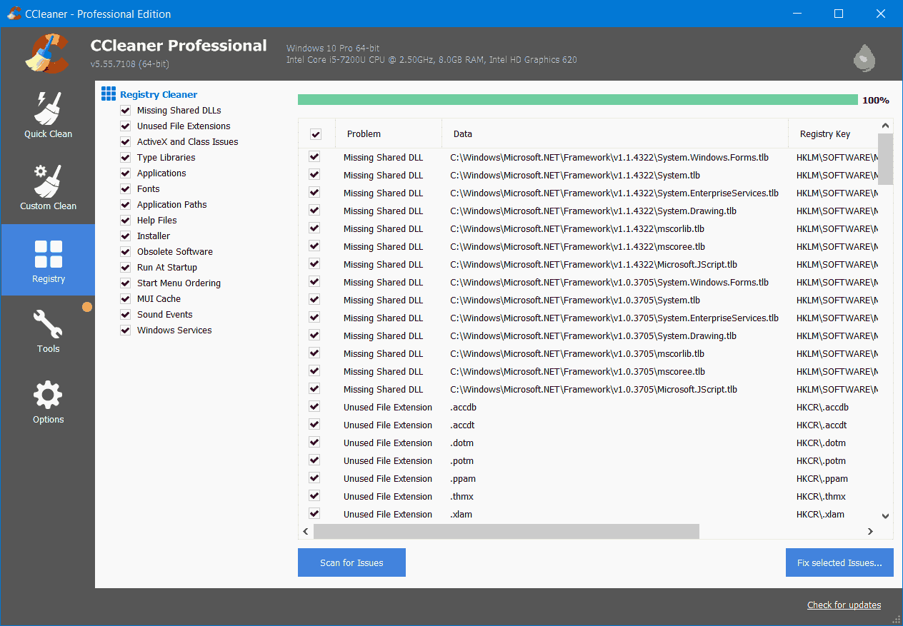 CCleaner Screenshot 3