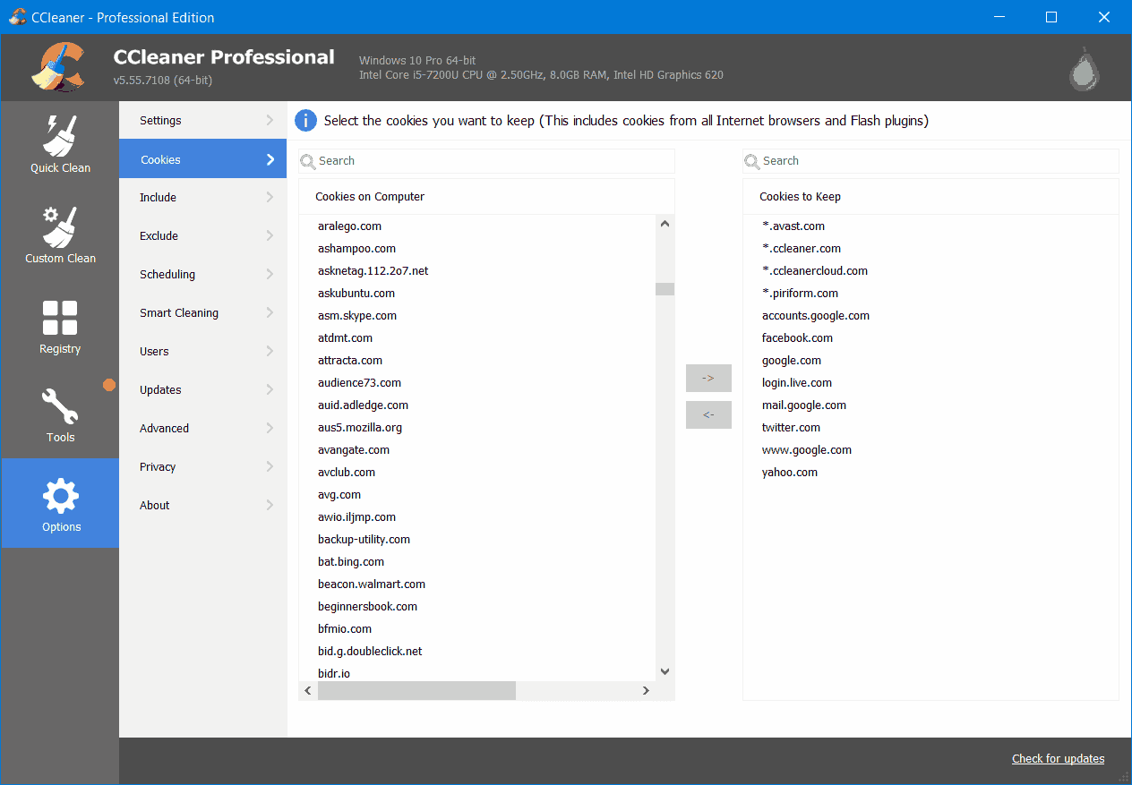 CCleaner Professional -Screenshot-4
