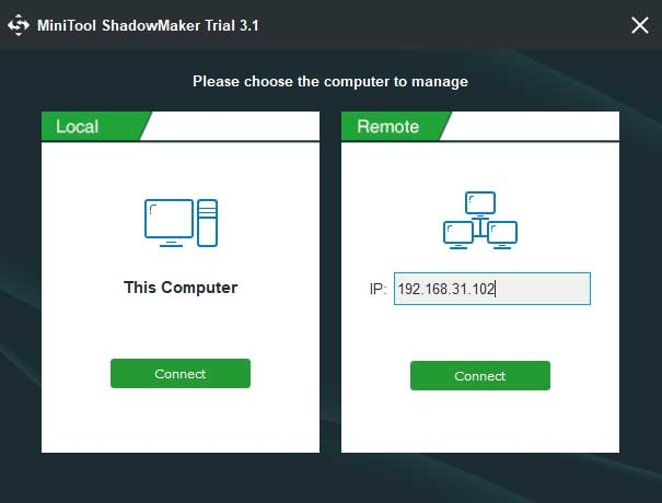 Minitool ShadowMaker Screenshot 3