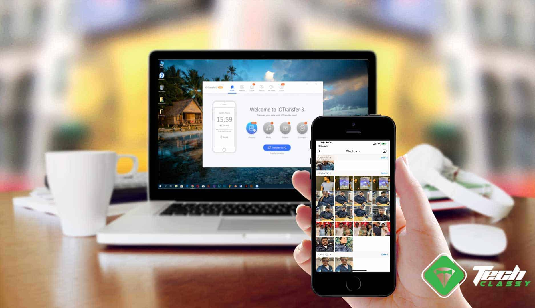 Transfer Photos and Videos from iPhone to Windows 10 PC