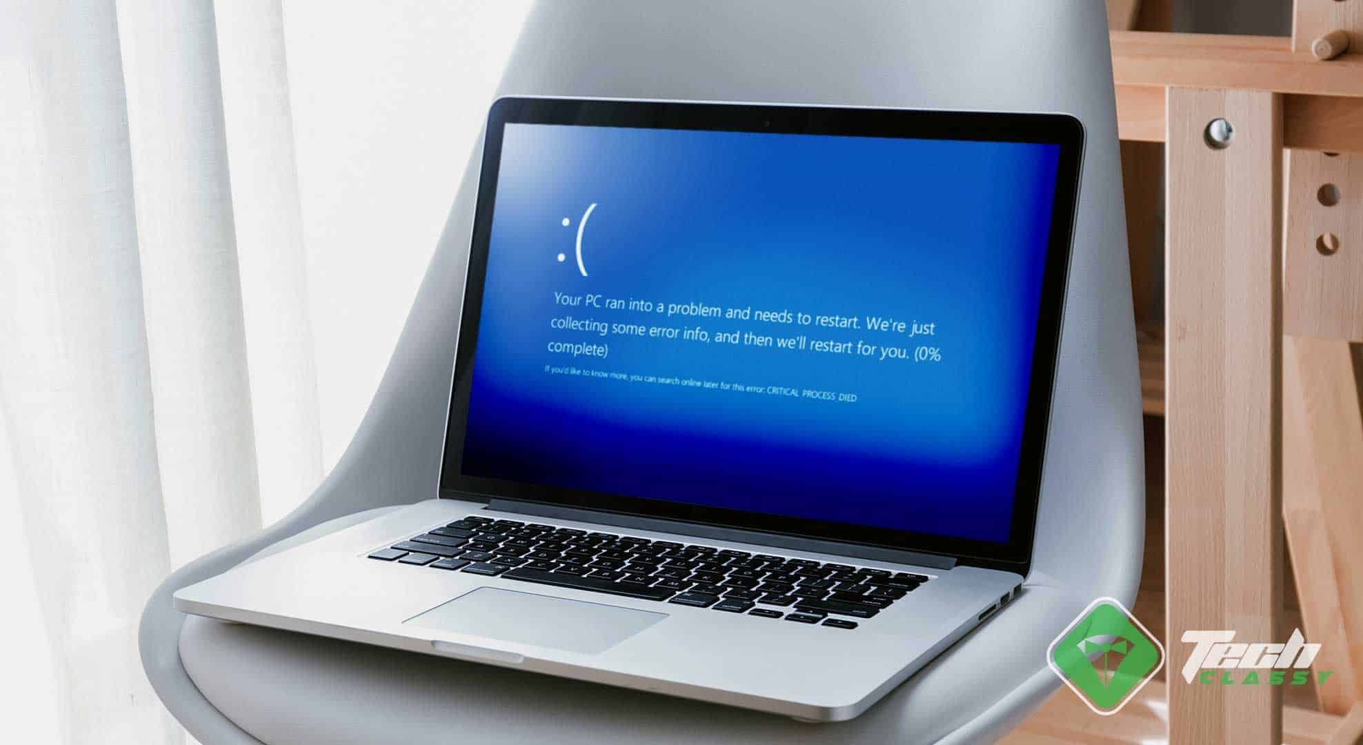 How to Fix CRITICAL PROCESS DIED Blue Screen on Windows