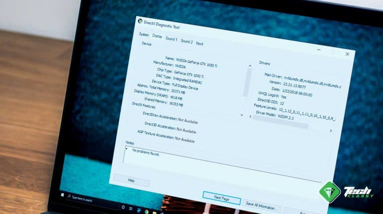 How to Fix DirectDraw and Direct3D Acceleration not Available on Windows 10