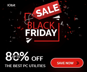 IObit Black Friday 2019 Deals