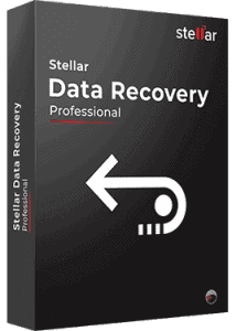 Stellar Data Recovery Professional Box Shoot