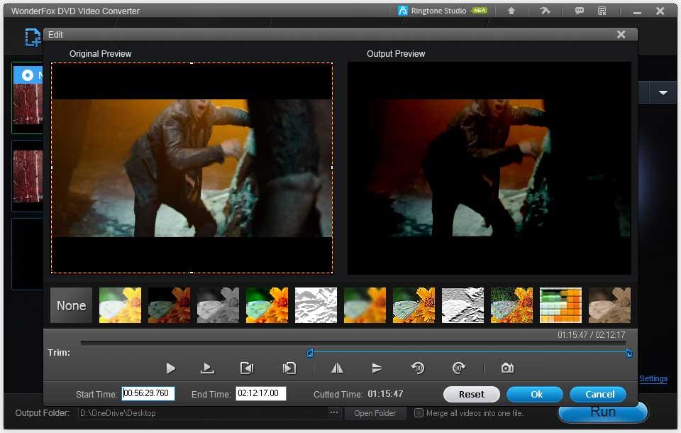 WonderFox DVD Video Converter Video Editor