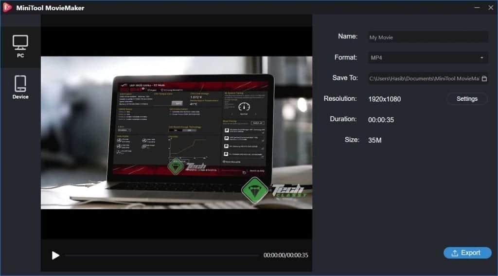 MiniTool Movie Maker Screenshot 4