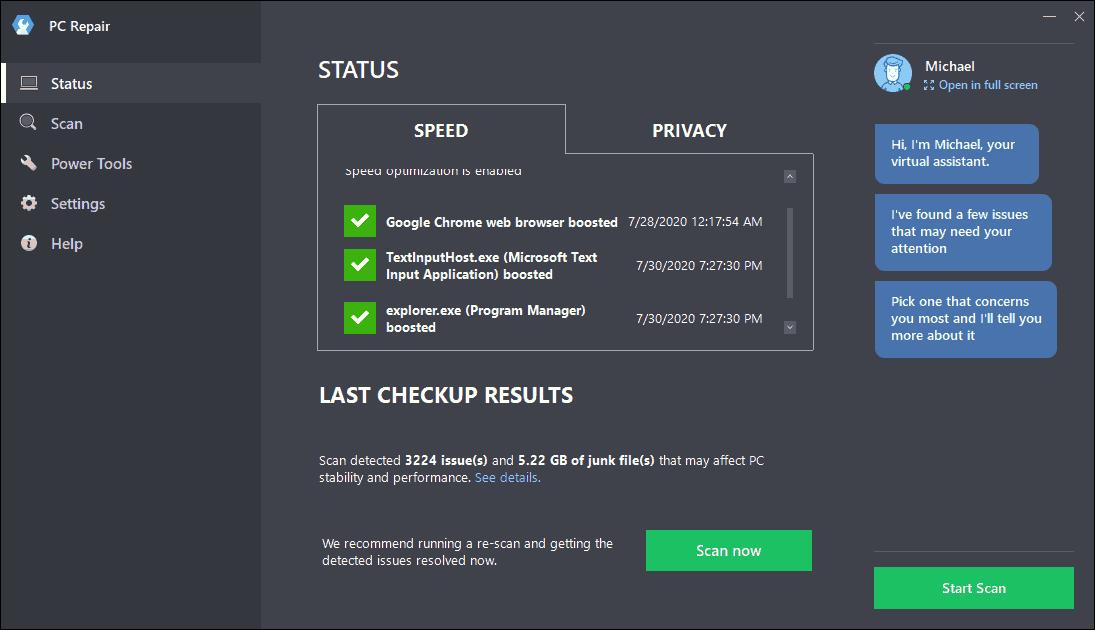 Outbyte PC Repair Screenshot 6