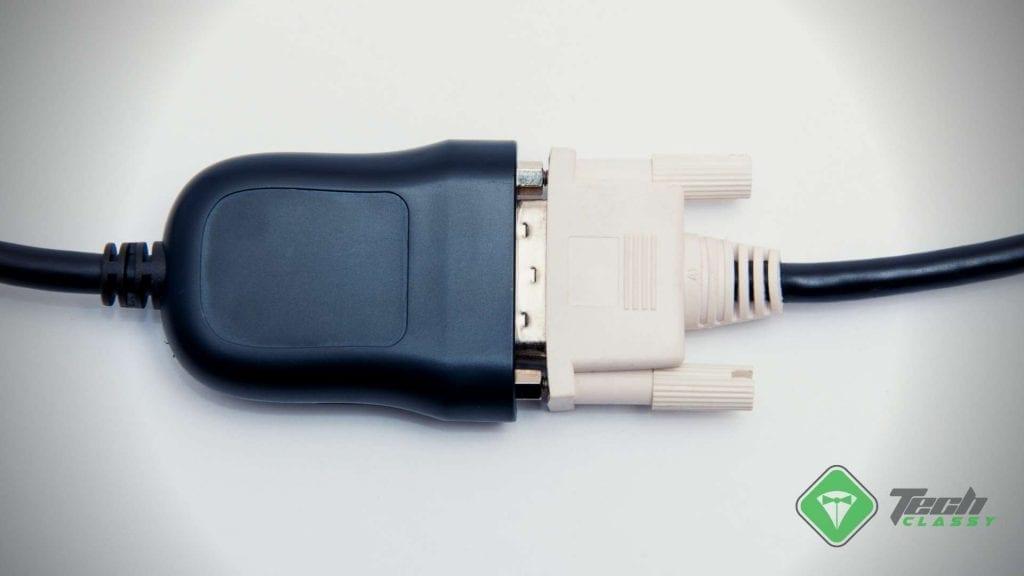 Dvi To Display Vga Port Adapter